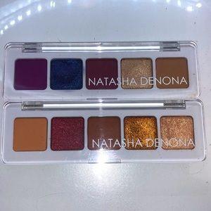 Mini Lila and Sunset Natasha Denona Palettes